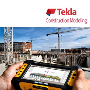 Tekla Construction modeling product logo, bim solutions